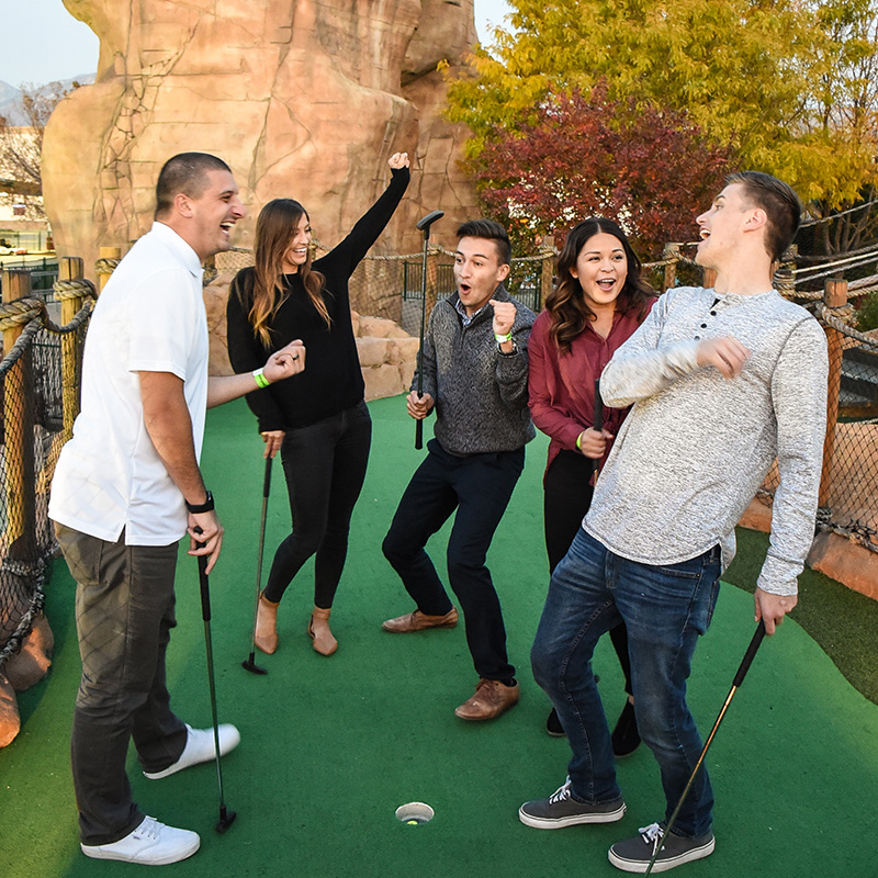 Boondocks - Group Miniature Golf