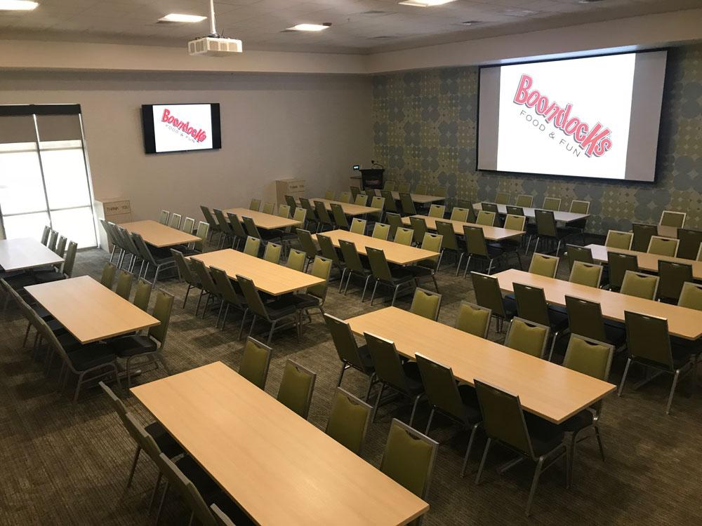Boondocks - Meeting Room Tables & Screens