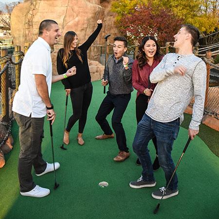 Boondocks - Group Mini Golf