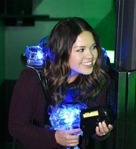 Boondocks - Girl Playing Laser Tag