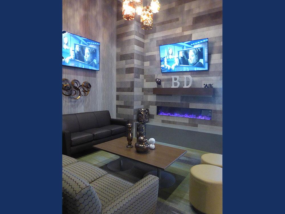 Boondocks Parker - VIP Lounge Area
