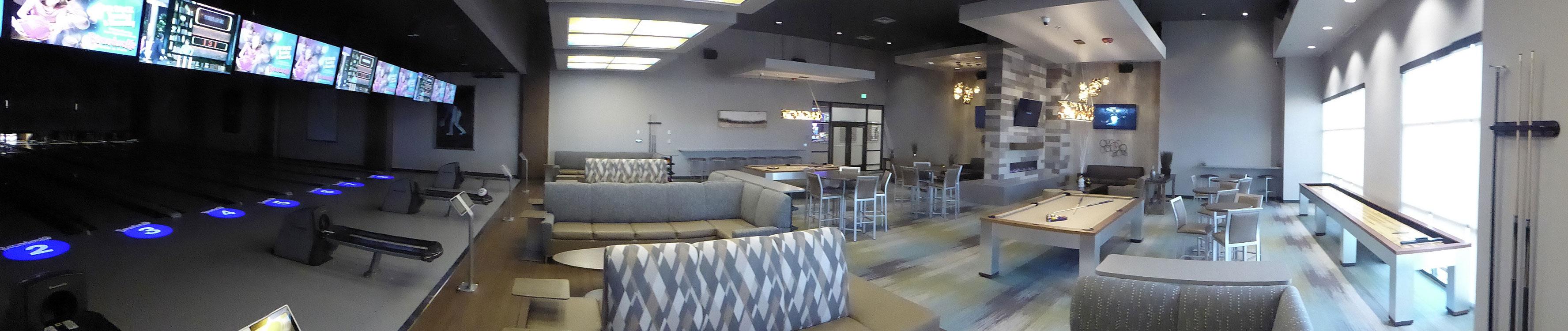 Boondocks Parker - VIP Lounge Panorama